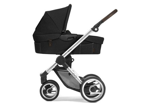 Кош за новородено за бебешка количка Evo Farmer Deep Anthracite 2018